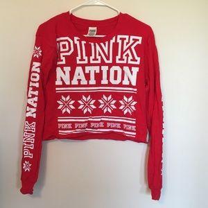 Pink Winter Top
